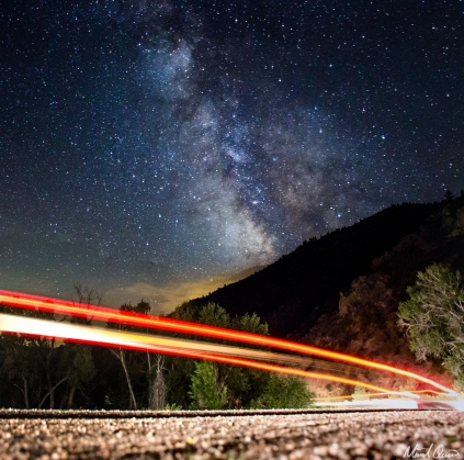 Backroad Milky Way