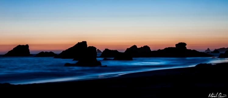 Beach Sunset Rocks