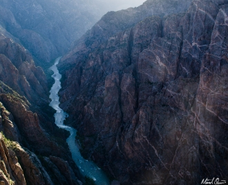Black Canyon of the Gunnison Sunset