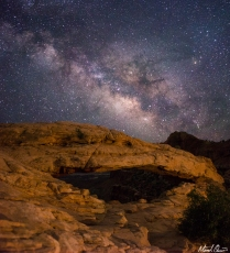 Canyonlands Mesa Arch Milky Way