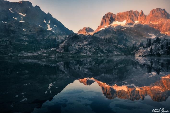 Ediza Lake Reflection
