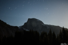 Half Dome Startrails