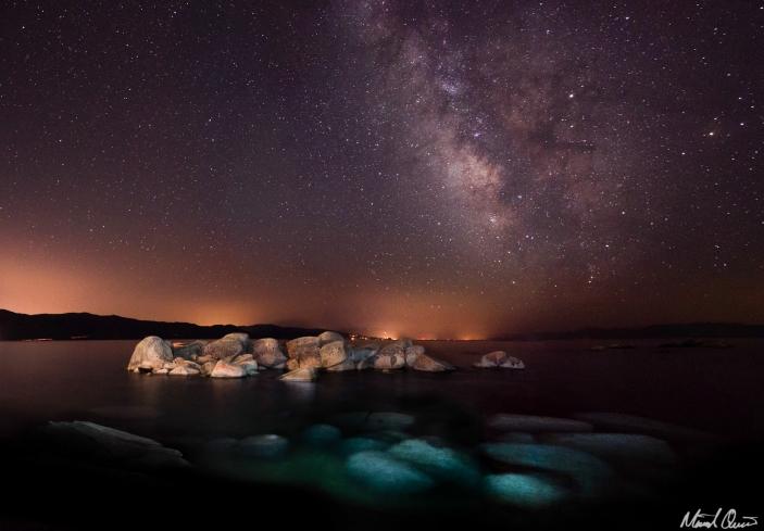 Lake Tahoe Milky Way