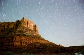 Moab Star Trails