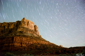 Moab Star Trails