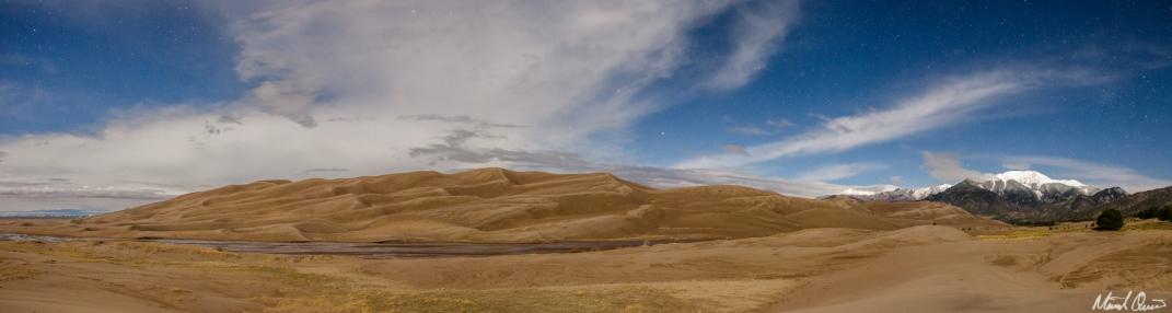 Moonlit Sand Dunes
