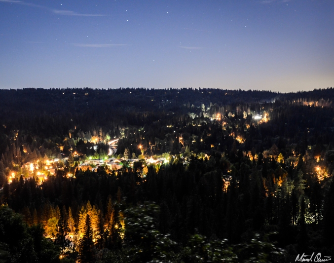 Nevada City Night