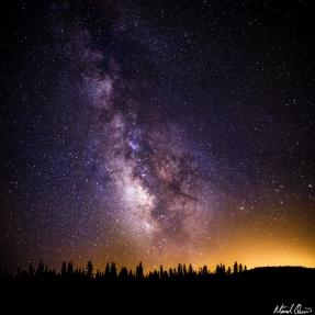 Rucker Lake Milky Way