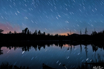 Rucker Lake Star Trails
