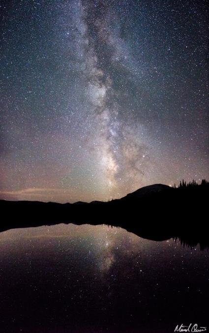 Sandbeach Lake Milky Way