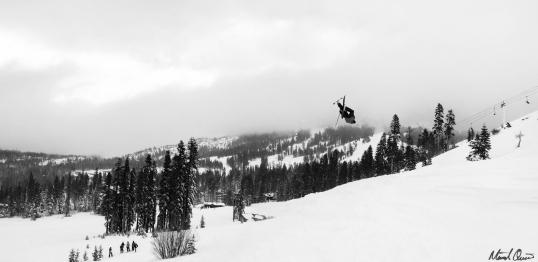 Skiing Backflip