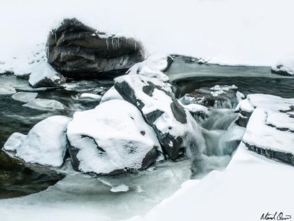 Snowy Poudre River