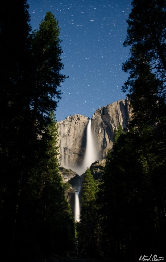 Yosemite Falls North Star