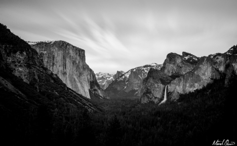 Yosemite Tunnel View Clouds