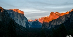 Yosemite Tunnel View Sunset