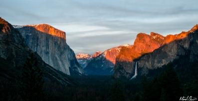 Yosemite Tunnel View Sunset