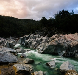 Yuba River Sunset