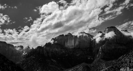 Zion Cloudy Peaks