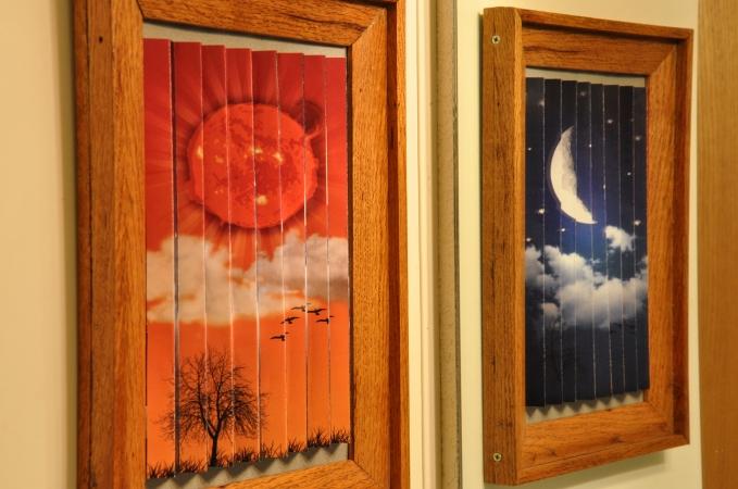 Sun and Moon Mirror
