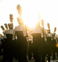 Marching Band Sunset