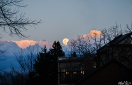 Moonrise Clouds