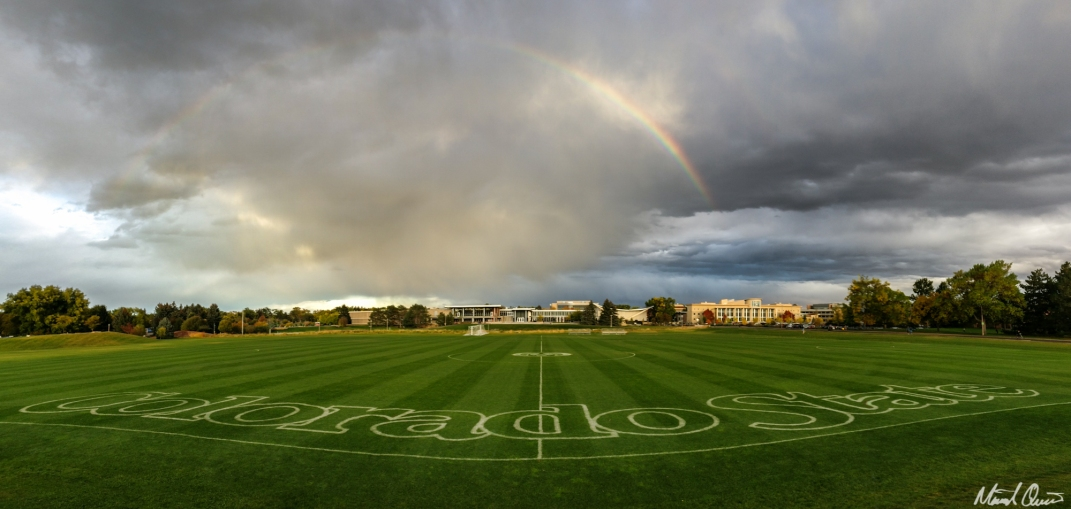 Soccer Pitch Rainbow