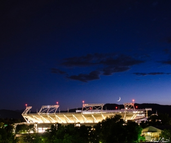 Stadium Moonrise