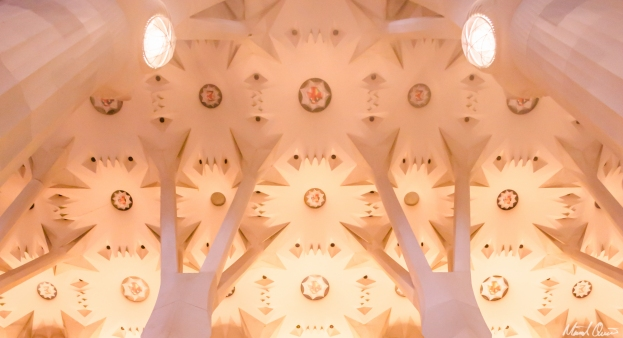 Barcelona La Sagrada Familia Ceiling Light