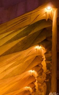 Barcelona La Sagrada Familia Lighting