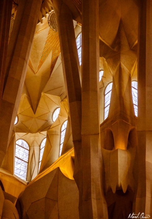 Barcelona La Sagrada Familia Roof