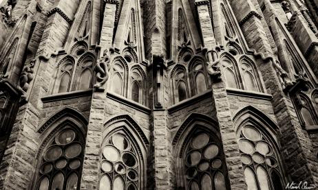 Barcelona La Sagrada Familia Walls