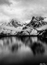 Étang de Soulcem Pyrenees France Mountain Lake Reflection