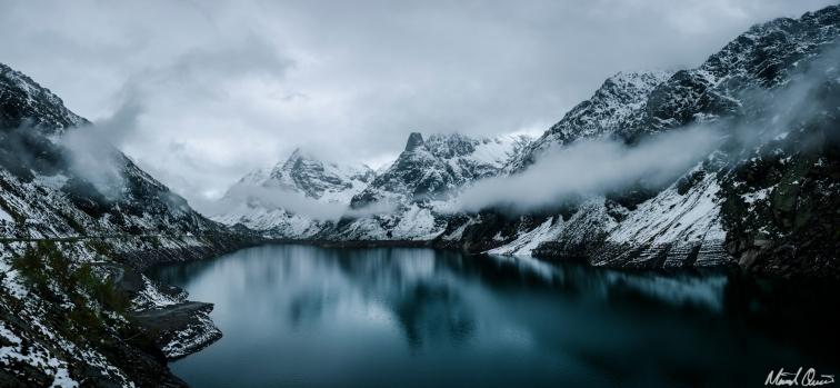 Étang de Soulcem Pyrenees France Mountain Lake