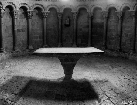 Castillo de Loarre Spain Table