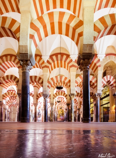 Córdoba Spain Mosque Cathedral Arches
