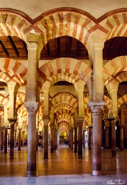 Córdoba Spain Mosque Cathedral Archway