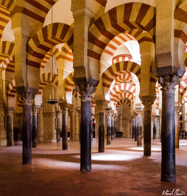Córdoba Spain Mosque Cathedral Interior