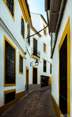 Córdoba Spain Yellow Streets