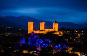 Château de Foix France Night