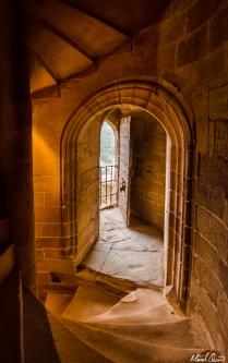 Château de Foix France Staircase