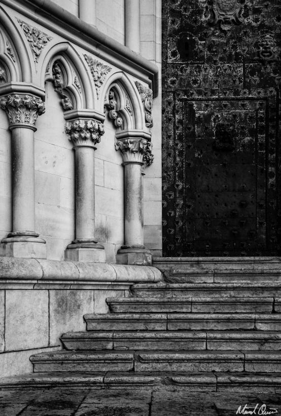 Cuenca Cathedral Entrance