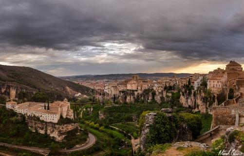Cuenca Spain Sunset Overlook