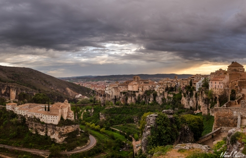 Cuenca Spain Sunset Overlook