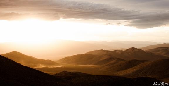 Death Valley Aguereberry Point Sunset