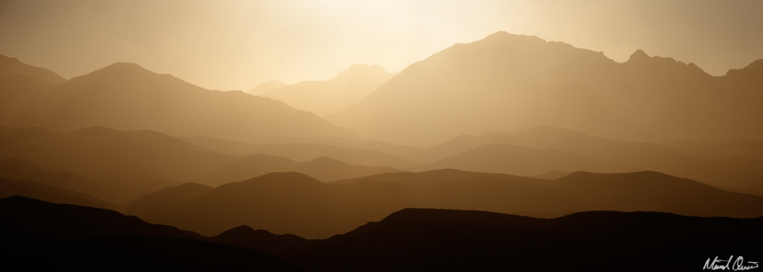 Death Valley Sandstorm Sunrise