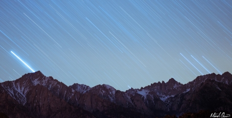 Eastern Sierra Star Trails