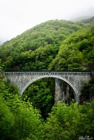 Gavarnie France Pyrenees Stone Bridge