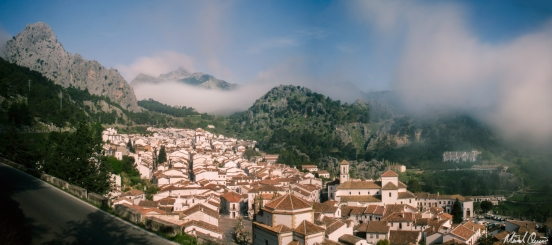 Grazalema Spain White Village Fog