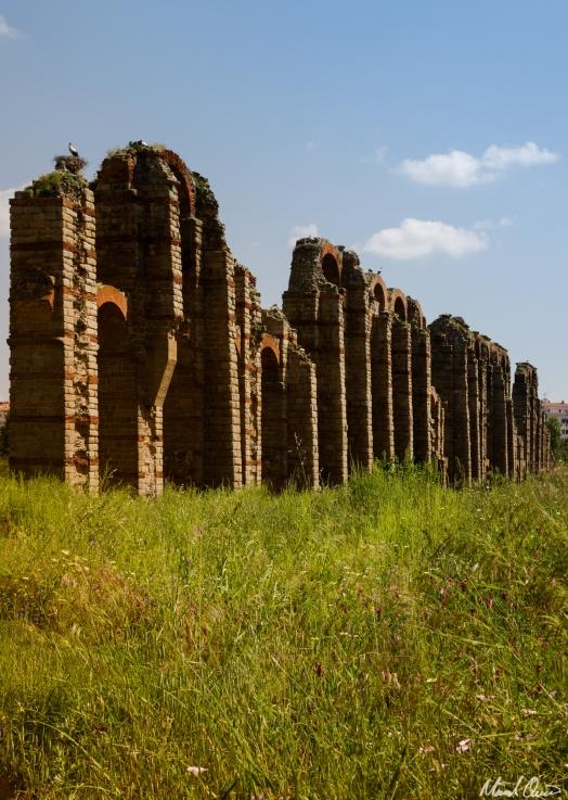 Mérida Spain Roman Aquaduct