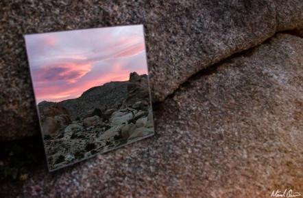 Mirror Sunset Glow